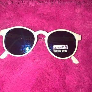 White sunglasses